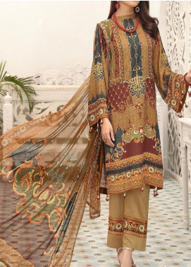 Zarki's by Riaz Arts Printed Viscose Unstitched 3 Piece Suit RA20Z 02 - Winter Collection