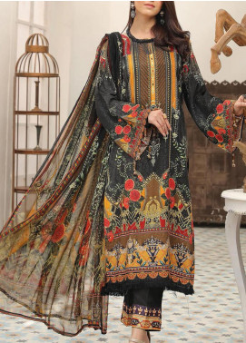 Zarki's by Riaz Arts Printed Viscose Unstitched 3 Piece Suit RA20Z 03 - Winter Collection