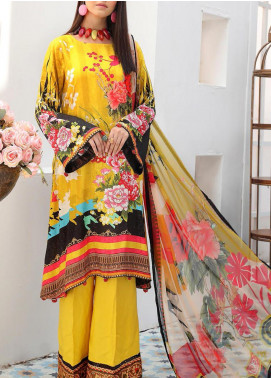Zarki's by Riaz Arts Printed Viscose Unstitched 3 Piece Suit RA20Z 04 - Winter Collection