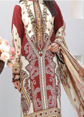 Zarki's by Riaz Arts Printed Viscose Unstitched 3 Piece Suit RA20Z 06 - Winter Collection