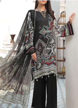 Zarki's by Riaz Arts Printed Viscose Unstitched 3 Piece Suit RA20Z 07 - Winter Collection