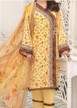 Zarki's by Riaz Arts Printed Viscose Unstitched 3 Piece Suit RA20Z 09 - Winter Collection
