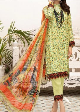 Zarki's by Riaz Arts Printed Viscose Unstitched 3 Piece Suit RA20Z 10 - Winter Collection