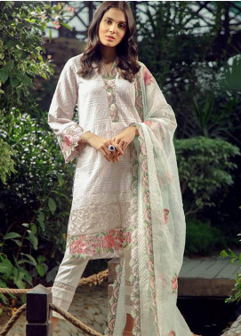 Zarqash Embroidered Swiss Voile Unstitched 3 Piece Suit ZRQ19L 9 - Festive Collection
