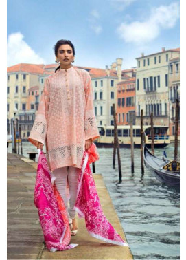 Zainab Chottani Embroidered Lawn Unstitched 3 Piece Suit ZC17L 4A