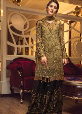 Zebtan Embroidered Chiffon Unstitched 3 Piece Suit ZBT19-C5 05 - Luxury Collection