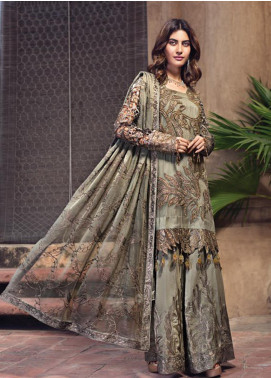 Zebtan Embroidered Chiffon Unstitched 3 Piece Suit ZBT19-Z2 03 - Luxury Collection