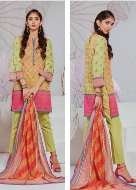 Zellbury Printed Lawn Unstitched 3 Piece Suit ZB20SL 100 - Spring / Summer Collection