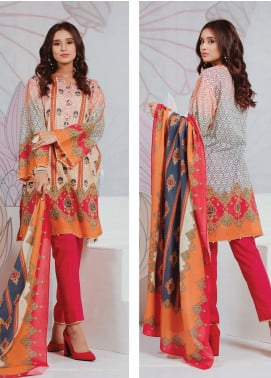 Zellbury Printed Lawn Unstitched 3 Piece Suit ZB20SL 106 - Spring / Summer Collection