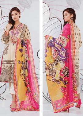 Zellbury Embroidered Lawn Unstitched 3 Piece Suit ZB20SL 110 - Spring / Summer Collection