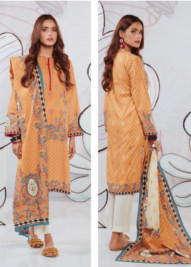 Zellbury Embroidered Lawn Unstitched 3 Piece Suit ZB20SL 111 - Spring / Summer Collection