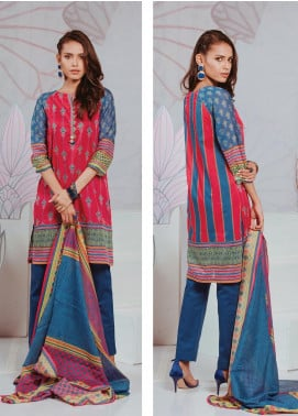 Zellbury Printed Lawn Unstitched 3 Piece Suit ZB20SL 125 - Spring / Summer Collection