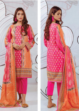 Zellbury Printed Lawn Unstitched 3 Piece Suit ZB20SL 126 - Spring / Summer Collection