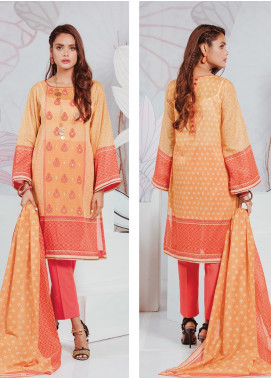 Zellbury Embroidered Lawn Unstitched 3 Piece Suit ZB20SL 134 - Spring / Summer Collection