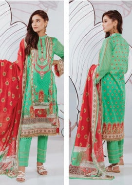 Zellbury Embroidered Lawn Unstitched 3 Piece Suit ZB20SL 135 - Spring / Summer Collection
