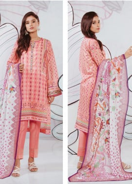 Zellbury Printed Lawn Unstitched 2 Piece Suit ZB20SL 136 - Spring / Summer Collection