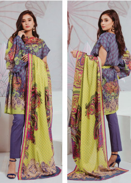 Zellbury Printed Lawn Unstitched 2 Piece Suit ZB20SL 138 - Spring / Summer Collection