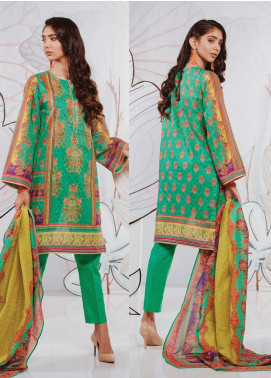 Zellbury Printed Lawn Unstitched 2 Piece Suit ZB20SL 140 - Spring / Summer Collection