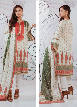 Zellbury Printed Lawn Unstitched 2 Piece Suit ZB20SL 84 - Spring / Summer Collection