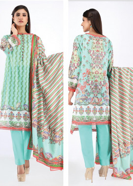 Zellbury Printed Lawn Unstitched 2 Piece Suit ZB20SL 85 - Spring / Summer Collection