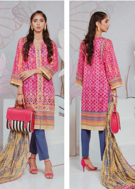 Zellbury Embroidered Lawn Unstitched 2 Piece Suit ZB20SL 88 - Spring / Summer Collection