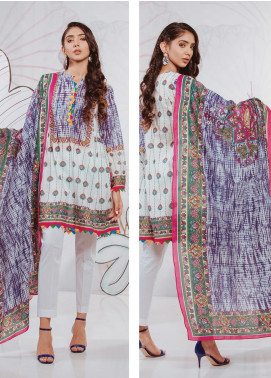 Zellbury Printed Lawn Unstitched 2 Piece Suit ZB20SL 90 - Spring / Summer Collection