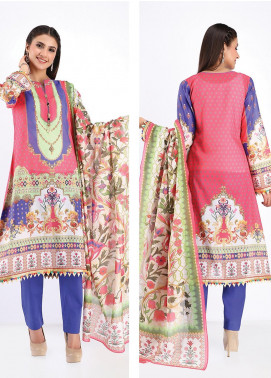 Zellbury Printed Lawn Unstitched 3 Piece Suit ZB20SL 95 - Spring / Summer Collection
