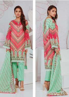 Zellbury Printed Lawn Unstitched 3 Piece Suit ZB20SL 98 - Spring / Summer Collection