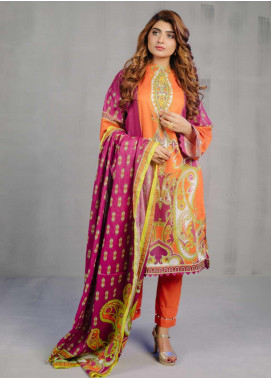 Zellbury Printed Lawn Unstitched 2 Piece Suit ZB20L ZW220204 - Spring / Summer Collection