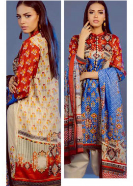 Zellbury Printed Lawn Unstitched 3 Piece Suit ZB20L ZW320222 - Spring / Summer Collection