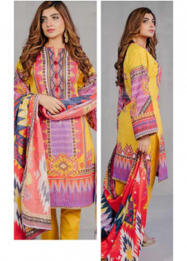 Zellbury Printed Lawn Unstitched 3 Piece Suit ZB20L ZW320223 - Spring / Summer Collection