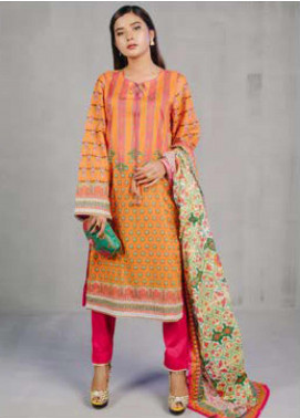 Zellbury Printed Lawn Unstitched 3 Piece Suit ZB20L ZW320224 - Spring / Summer Collection