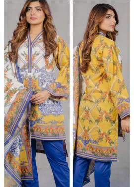 Zellbury Printed Lawn Unstitched 3 Piece Suit ZB20L ZW320232 - Spring / Summer Collection