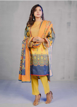 Zellbury Printed Lawn Unstitched 3 Piece Suit ZB20L ZW320234 - Spring / Summer Collection