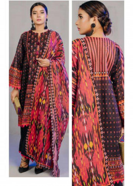 Zellbury Printed Lawn Unstitched 3 Piece Suit ZB20L ZW320239 - Spring / Summer Collection