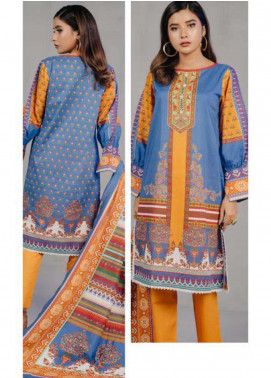 Zellbury Printed Lawn Unstitched 3 Piece Suit ZB20L ZW320240 - Spring / Summer Collection