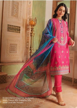 Zellbury Embroidered Cotton Unstitched 3 Piece Suit ZB20LW 429 - Winter Collection