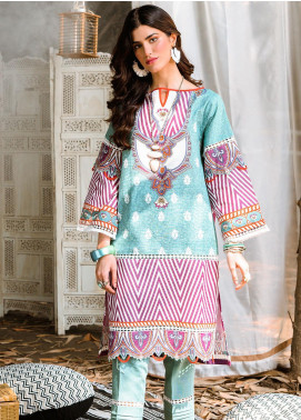 Zellbury Printed Khaddar Unstitched Kurties ZB20W ZWC1-472 - Winter Collection