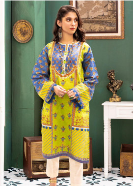 Zellbury Printed Khaddar Unstitched Kurties ZB20W ZWC1-473 - Winter Collection