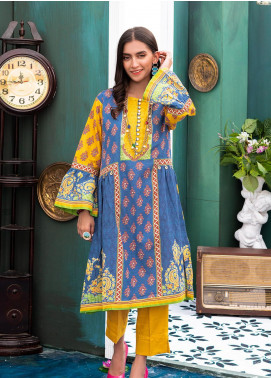 Zellbury Printed Khaddar Unstitched 2 Piece Suit ZB20W ZWC2-482 - Winter Collection