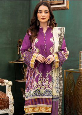 Zellbury Printed Khaddar Unstitched 2 Piece Suit ZB20W ZWC2-483 - Winter Collection
