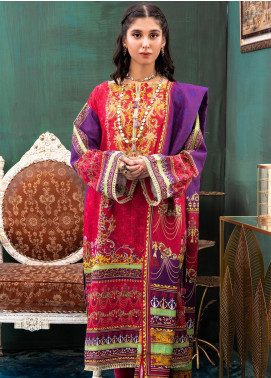 Zellbury Printed Khaddar Unstitched 3 Piece Suit ZB20W ZWC3-506 - Winter Collection