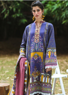 Zellbury Printed Khaddar Unstitched 3 Piece Suit ZB20W ZWC3-511 - Winter Collection