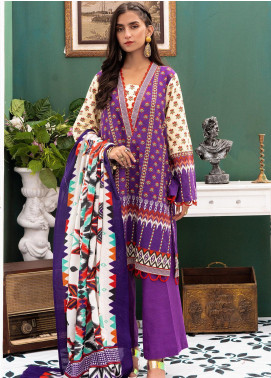 Zellbury Printed Khaddar Unstitched 3 Piece Suit ZB20W ZWC3-540 - Winter Collection