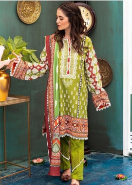 Zellbury Printed Khaddar Unstitched 3 Piece Suit ZB20W ZWC3-543 - Winter Collection