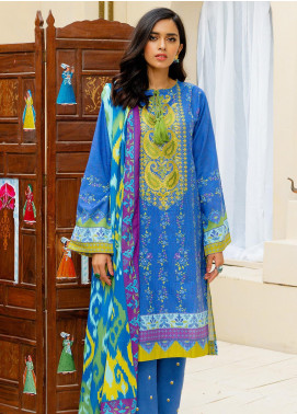 Zellbury Embroidered Khaddar Unstitched 3 Piece Suit ZB20W ZWC3-548 - Winter Collection