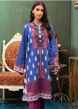 Zellbury Embroidered Khaddar Unstitched Kurties ZB20W ZWCE1-477 - Winter Collection