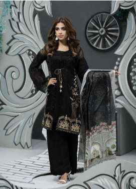 Veena Durrani Embroidered Lawn Unstitched 2 Piece Suit ZO17T4 02