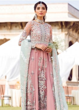 Zohra by Gulaal Embroidered Net Unstitched 3 Piece Suit GL19WE 02 SEHR - Wedding Collection