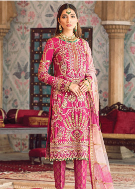 Zohra by Gulaal Embroidered Grip Unstitched 3 Piece Suit GL19WE 07 ZAIRA - Wedding Collection